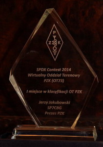 Puchar za SP-DX Contest 2014